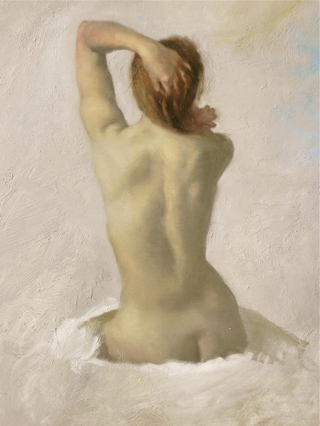 Nude Oil Sketch