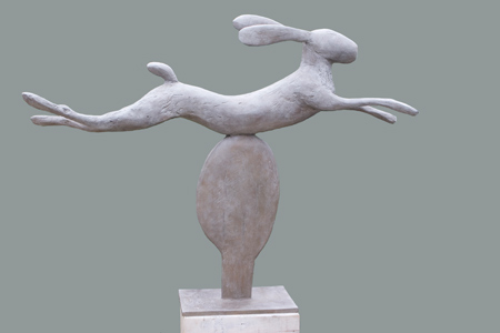 Leaping Hare - Christopher Marvell