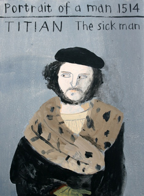 Portrait Of A Sick Man