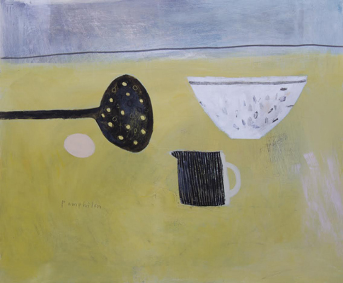 yellow and black still life