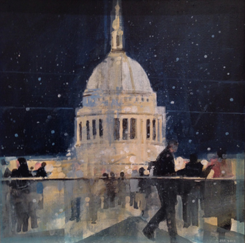 First Snow, St Pauls
